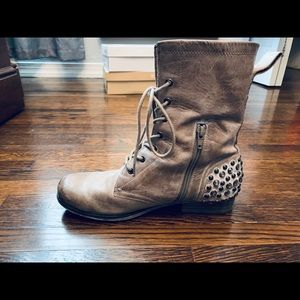 Betsey Johnson Leather Boots